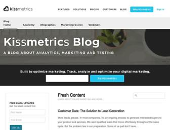 blog.kissmetrics.com screenshot