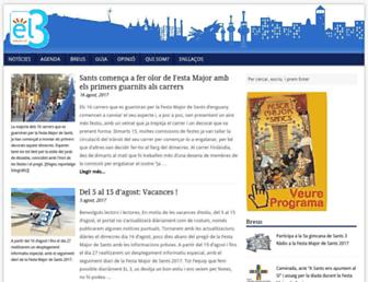 Main page screenshot of el3.org