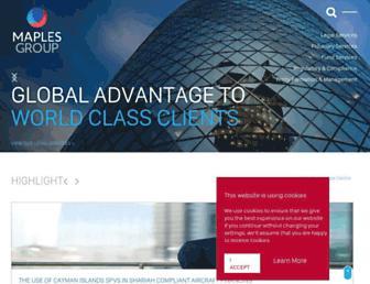 maples.com screenshot
