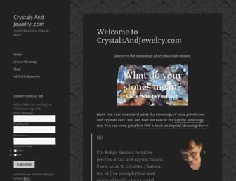 Thumbshot of Crystalsandjewelry.com