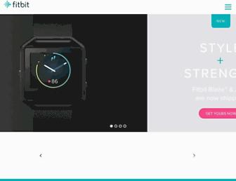 Thumbshot of Fitbit.com