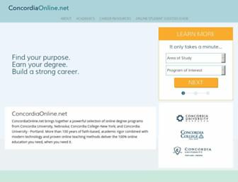 Thumbshot of Concordiaonline.net