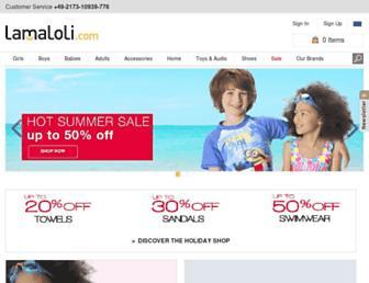 Thumbshot of Lamaloli.com
