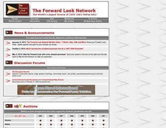 Main page screenshot of forwardlook.net