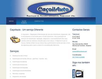 cacoilauto.com screenshot