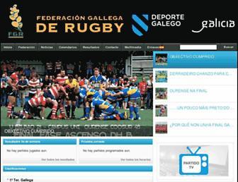 fegarugby.es screenshot
