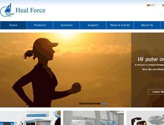 healforce.com screenshot
