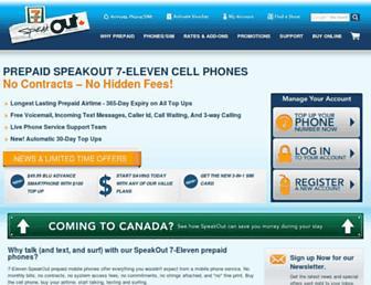 speakout7eleven.ca screenshot