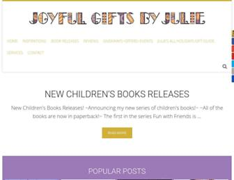 Screenshot for joyfulgiftsbyjulie.biz