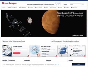 rosenberger.com screenshot