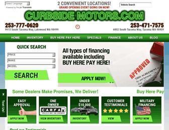 curbsidemotors.com screenshot