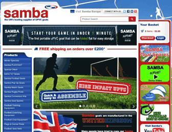 sambasports.co.uk screenshot