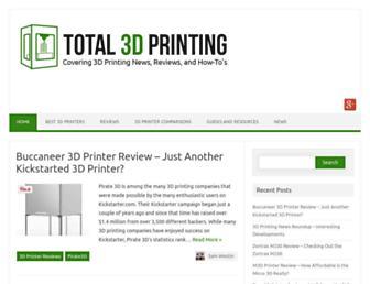 total3dprinting.org screenshot