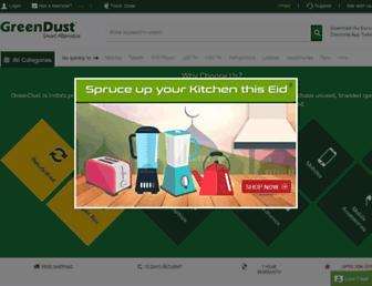Thumbshot of Greendust.com