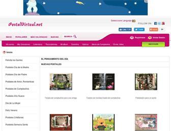 postalvirtual.net screenshot