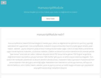 manuscriptmodule.com screenshot