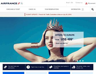Thumbshot of Airfrance.com.br