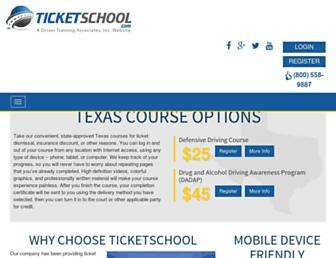 ticketschool.com screenshot