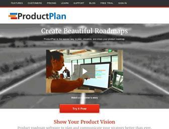 productplan.com screenshot