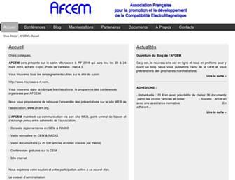 afcem.org screenshot