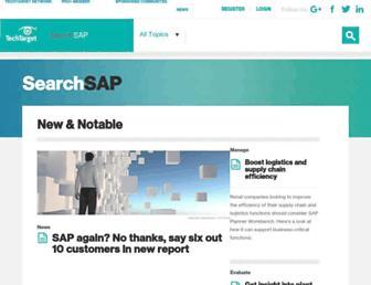 searchsap.techtarget.com screenshot