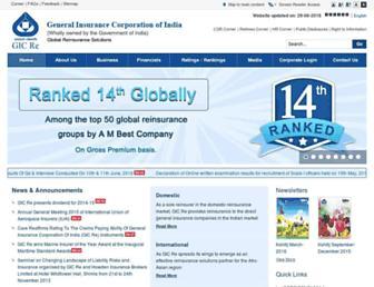 gicofindia.com screenshot