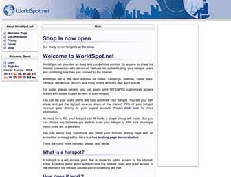 Thumbshot of Worldspot.net