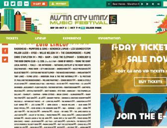Thumbshot of Aclfestival.com