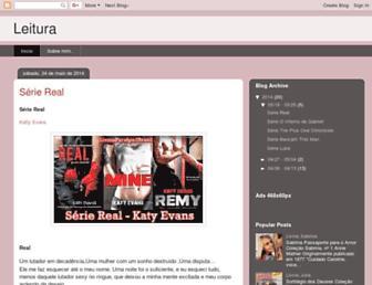 leituraeromances.blogspot.com screenshot
