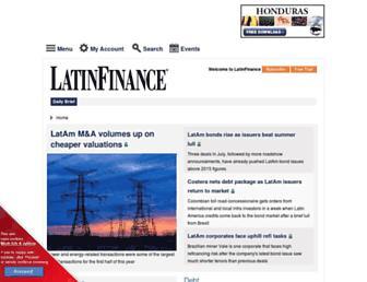 latinfinance.com screenshot