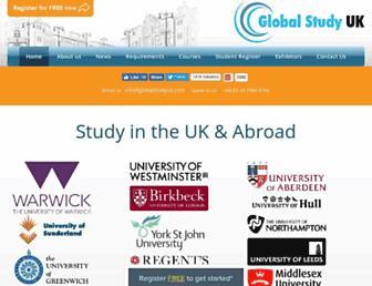 globalstudyuk.com screenshot