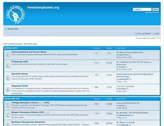 freestompboxes.org screenshot