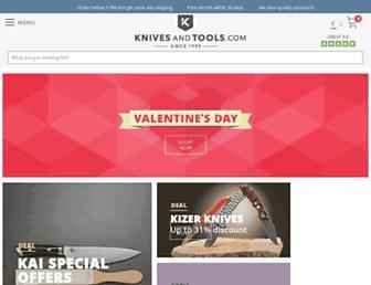 knivesandtools.com screenshot