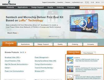 Thumbshot of Semtech.com