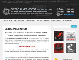 distrojaketmotor.com screenshot