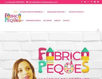 lafabricadelospeques.com screenshot