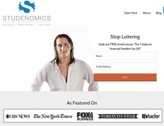 studenomics.com screenshot