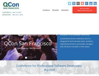 Thumbshot of Qconsf.com