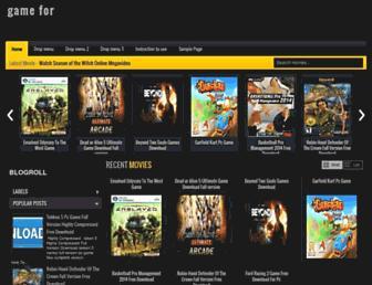 gamefor14.blogspot.com screenshot