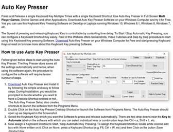 autokeypresser.com screenshot