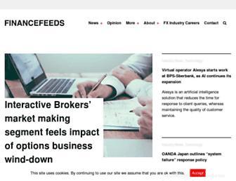 financefeeds.com screenshot