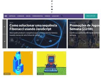 codigofonte.com.br screenshot