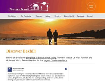 discoverbexhill.com screenshot