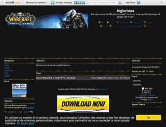 inglorious-mdz.xooit.fr screenshot