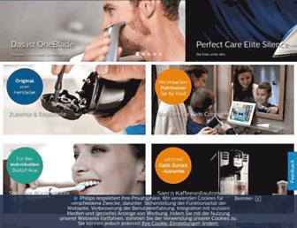 Thumbshot of Philips-shop.de