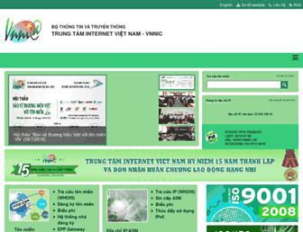 vnnic.vn screenshot