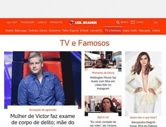 tvefamosos.uol.com.br screenshot