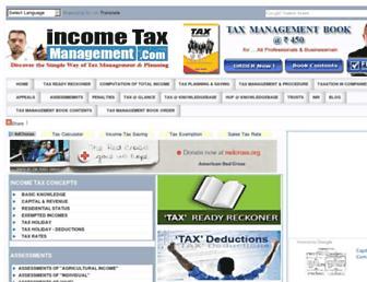 incometaxmanagement.com screenshot