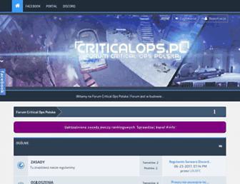criticalops.pl screenshot