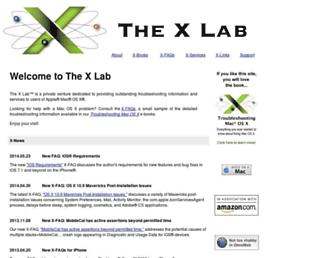 thexlab.com screenshot